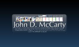 Copy of John D. McCarty's Digital Resume