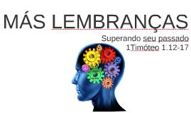 MÁS LEMBRANÇAS