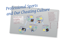 Professional Sports and Our Cheating Culture