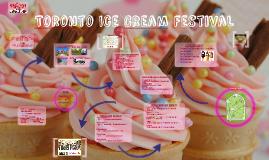 Toronto Ice Cream Festival