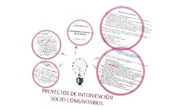 PROYECTOS DE INTERVENCIÓN