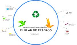 Plan de trabajo CCOO Halcón
