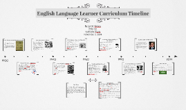 English Language Learner Curriculum Timeline