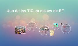 La  propuesta focaliza la inclusión de Tic en la enseñanza d