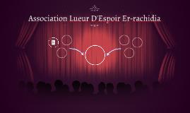 Association Lueur D'Espoir Er-rachidia
