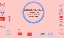 INTERCULTURALIDAD Y RELACION CON EL MEDIO AMBIENTE