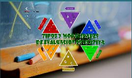 Copy of Tipos y Modalidades de Evaluacion