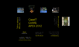 Copy of CaseIT/CoMIS/Apex Recruitment 2012