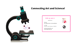 Copy of Connecting Art and Science