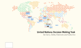 United Nations Decision Making Excercise