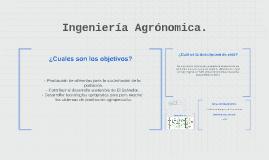 Ingenieria Agronomica.
