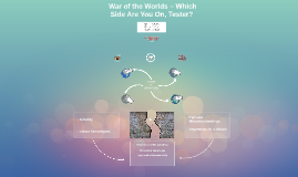 War of the Worlds – Which Side Are You On, Tester?