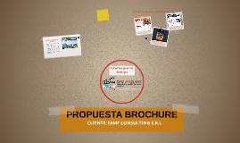 PROPUESTA BROCHURE