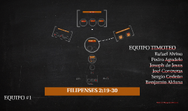 FILIPENSES 2:19-30