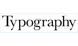 Copy of Typography Lecture
