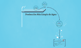 Producción Más Limpia de Agua