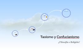 Confucianismo y Taoismo