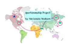 Sportsmanship Project