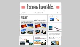 Copy of Recursos Inagotables