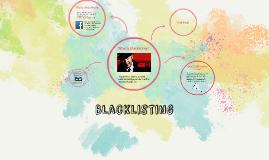 Blacklisting