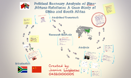 Copy of Political Economy Analysis of Sino-African Relations: A Case