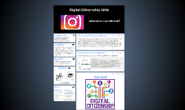 Digital Citizenship 2016: Altered or not Altered