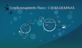 Condicionamento físico- 5 IFSULDEMINAS