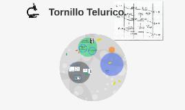 Tornillo Telurico de Chancourtois...