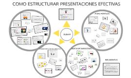 Copy of Como estructurar presentaciones efectivas,