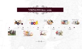 VIKINGTID 800-1066