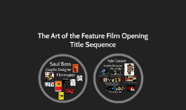 Art of the Feature Film Opening Title Sequence