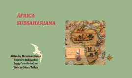 Copy of ÁFRICA SUBSAHARIANA