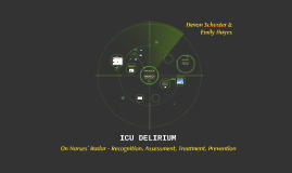 ICU DELIRIUM