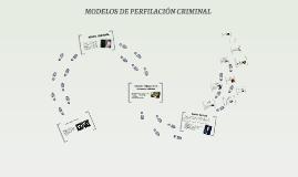 Copy of MODELOS DE PERFILACION CRIMINAL
