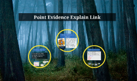 Copy of Point Evidence Explain Link