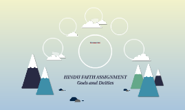 Hindu Faith Assignment