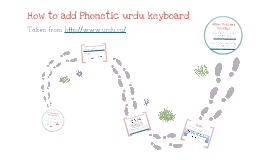 How to add phonetic keyboard on computer - ARABIC & URDU