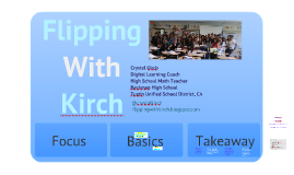 V3 - Flipping with Kirch - Implementing Flipped Learning