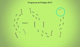 Programa de Estágio 2015- Área de Programação