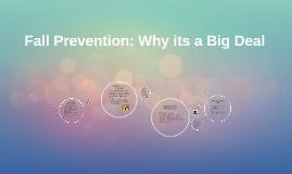 Fall prevention presentation