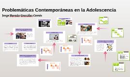 Problemáticas Contemporáneas en la Adolescencia