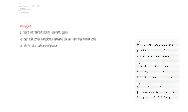 Musikteori del 2 - Förtecken, rytm och takt