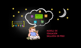 Mapa de Educación Inclusiva Perú