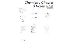 Chemistry Chapter 5 Notes