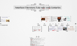 Copy of American Literary History: An Overview