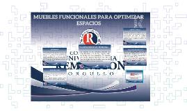 MUEBLES FUNCIONALES PARA OPTIMIZAR ESPACIOS