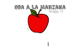 Oda a La Manzana