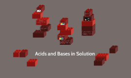 Acids and Bases in Solution