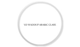 Arabic presentation 2.0
