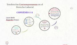 Tendencias Contemporaneas en el Derecho Laboral